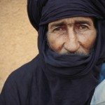 Portrait of a Tuareg man